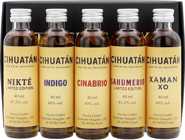Ron Cihuatán Tasting Box einzeln