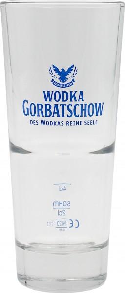 Wodka Gorbatschow Longdrinkglas