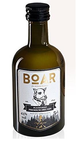 Miniatur BOAR Black Forest Dry Gin