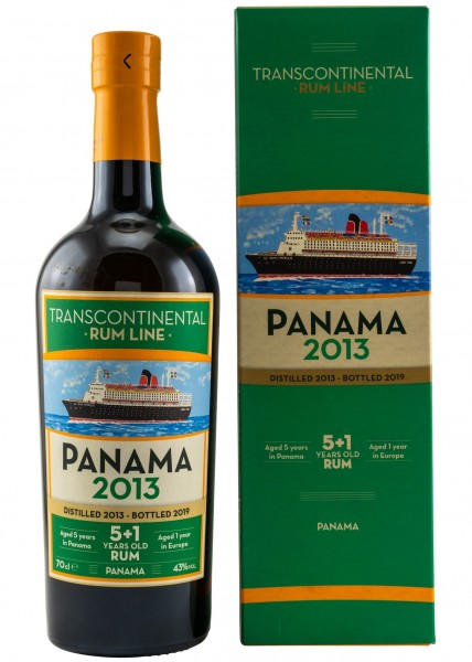 Panama 2013 Transcontinental Rum Line #34