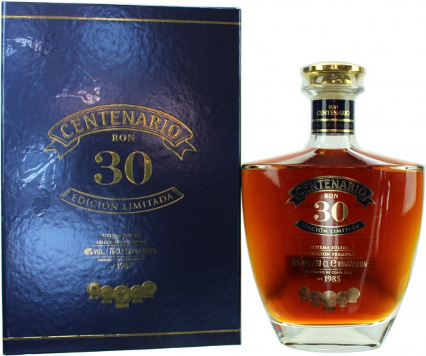 Ron Centenario 30 Jahre Edicion Limitada 40.0% 0,7l