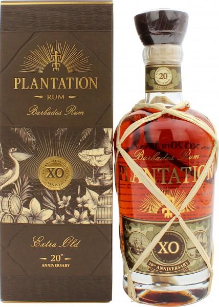 Plantation Barbados X.O. Rum 20th Anniversary 40% 0,7l