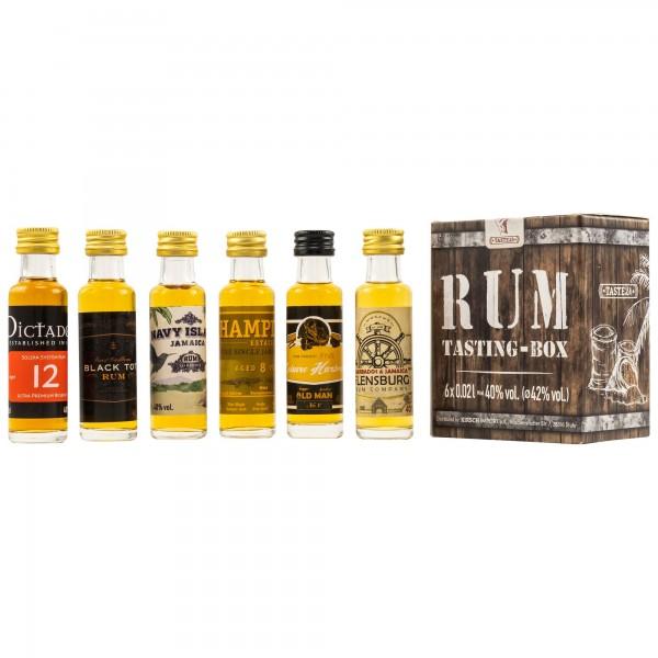 Rum Tasting Set 42.0% 6x 0,02l
