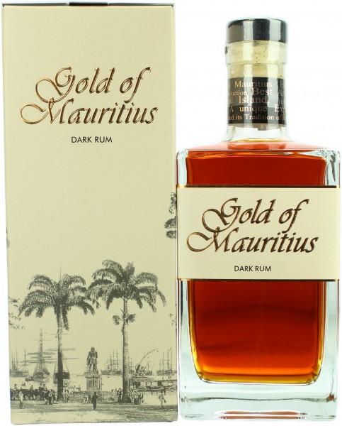 Gold of Mauritius Dark Rum 40.0% 0,7l