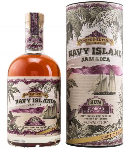 Navy Island XO Rum Oloroso Sherry Cask Finish 46.3% 0,7l