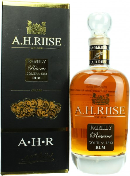 A.H. Riise Family Reserve Solera 1838 25 Jahre 42.0% 0,7l