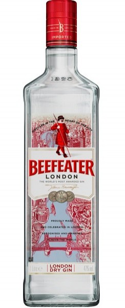Beefeater London Dry Gin 47.0% 1 Liter