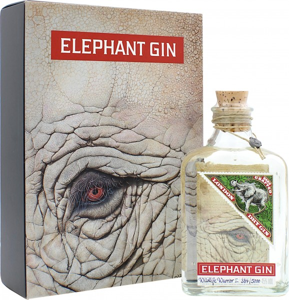 Elephant Wildlife Warrior London Dry Gin