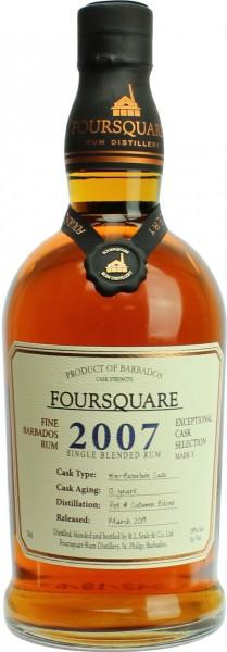 Foursquare Cask Strength 2007