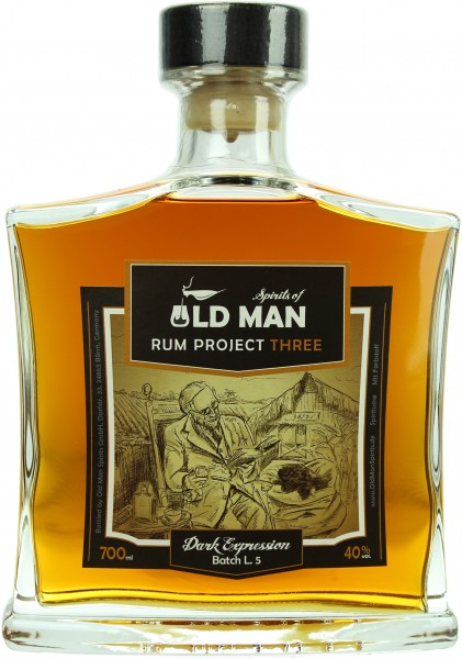Rum Project Three- Spirits of Old Man
