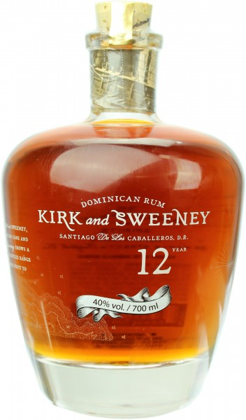 Kirk and Sweeney Rum 12 Jahre 40.0% 0,7l