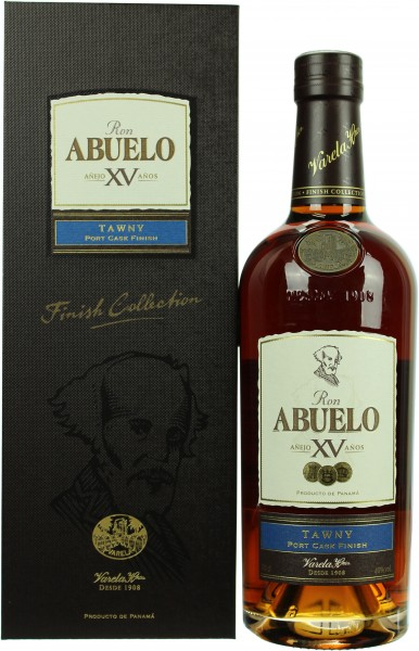 Abuelo 15 Jahre Tawny Port Finish Rum 40.0% 0,7l