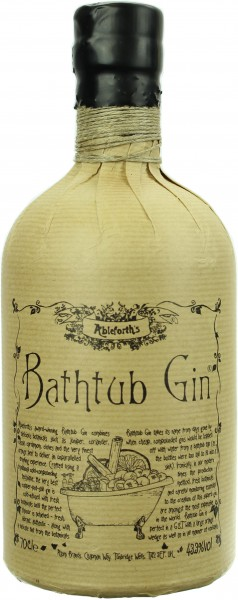 Ableforth's Bathtub Gin 43.3% 0,7l