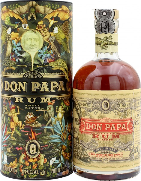 Don Papa Rum Flora und Fauna Limited Edition