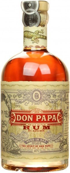 Don Papa Rum 40% vol. 0,7l