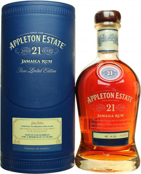 Appleton Estate 21 Jahre 43% 0,7l