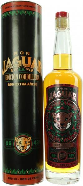 Ron Jaguar Edicion Cordillera 43.0% 0,7l