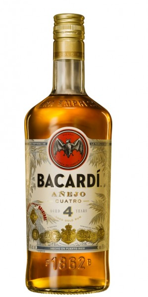 Bacardi 4 Jahre Anejo Cuatro 40.0% 0,7l