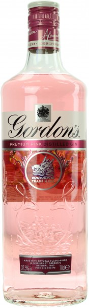 Gordon's Pink Premium Gin 37.5% 0,7l
