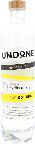 UNDONE This is NOT Gin No.2 Juniper Type