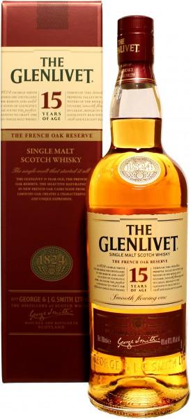 Glenlivet French Oak 15 Jahre 40.0% 0,7l