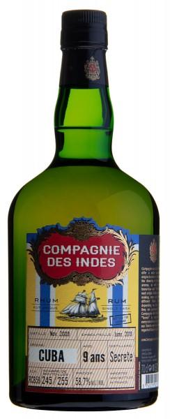 Compagnie Des Indes Cuba 9 Jahre 2009/2019 Single Cask