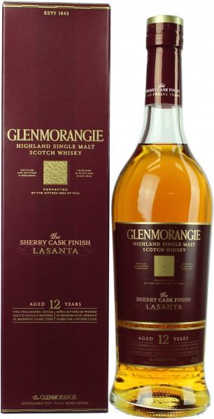 Glenmorangie Lasanta 12 Jahre altes Design 43.0% 0,7l