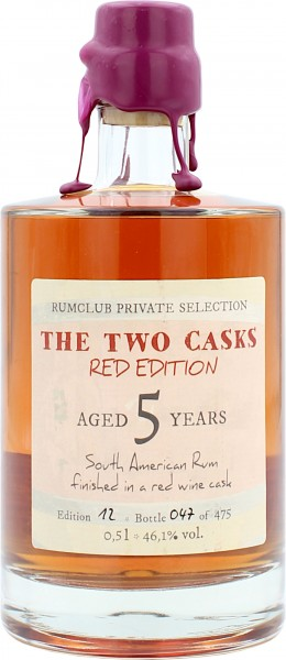 Rumclub Private Selection South American Rum 5 Jahre Red Edition