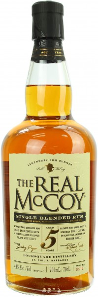 The Real McCoy Rum 5 Jahre 40.0% 0,7l