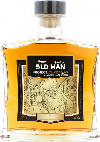 Project Christmas in Love with Rum - Spirits of Old Man