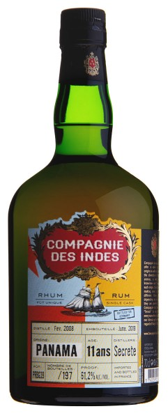 Compagnie Des Indes Panama 11 Jahre 2008/2019 Single Cask