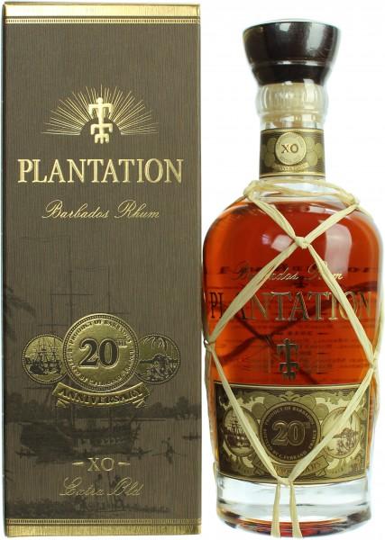 Plantation Barbados X.O. Rum 20th Anniversary 40%  0,70l