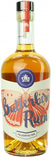 Butterbird Feuerfalter Rum 46.0% 0,5l