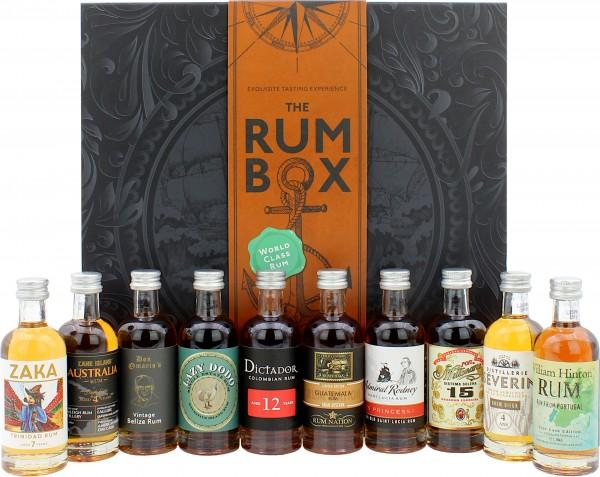 The Rum Box World Class Tasting Set