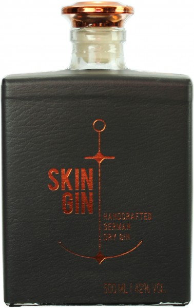 Skin Gin German Dry Gin Edition Antrazite 42.0% 0,5l