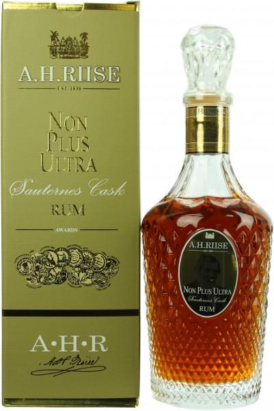 A.H. Riise Non Plus Ultra Sauternes Cask Finish