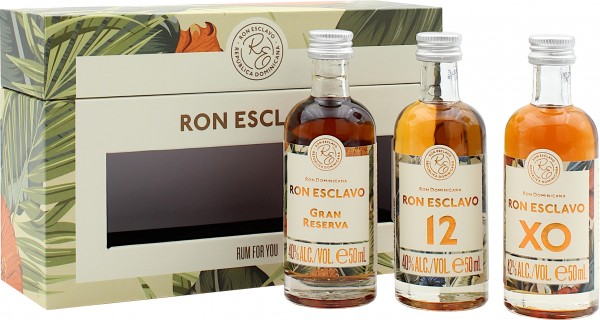 Ron Esclavo Tasting Set RUM FOR YOU