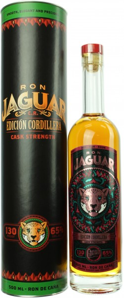 Ron Jaguar Edicion Cordillera Cask Strength 65.0% 0,5l