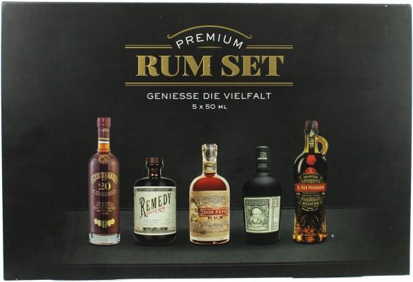 Sierra Madre Premium Rum Tasting Set 40.3% 5x50ml