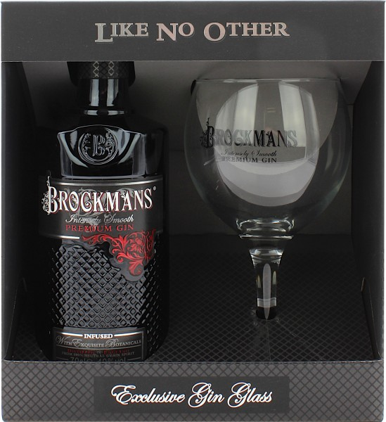Brockmans Premium Gin Geschenkset mit Ballonglas