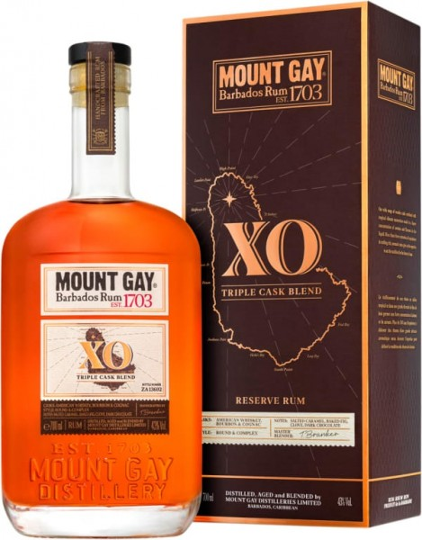 Mount Gay XO Triple Cask