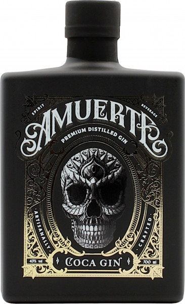 Amuerte Coca Leaf Gin Black Edition