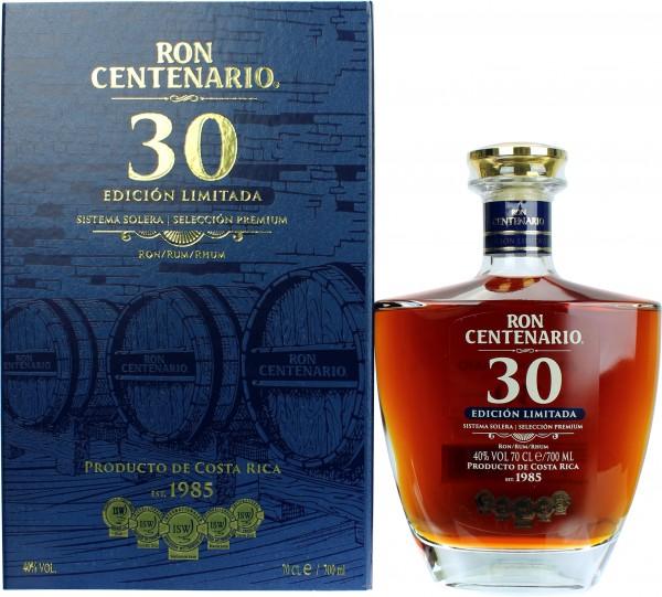 Ron Centenario 30 Jahre Edicion Limitada