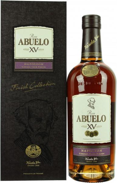 Abuelo 15 Jahre Napoleon Cognac Finish Rum 40.0% 0,7l