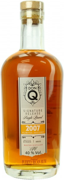 Don Q Rum Single Barrel 2007 Limited Edition 40.0% 0,7l