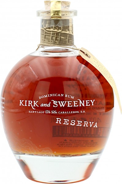 Kirk and Sweeney Rum Reserva