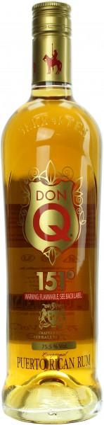 Don Q Rum 151 Overproof 75.5% 0,7l