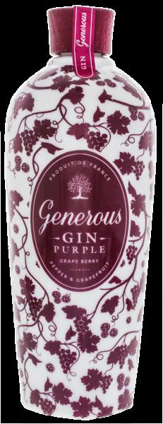 Generous Gin Purple Grape Berry 44.0% 0,7l