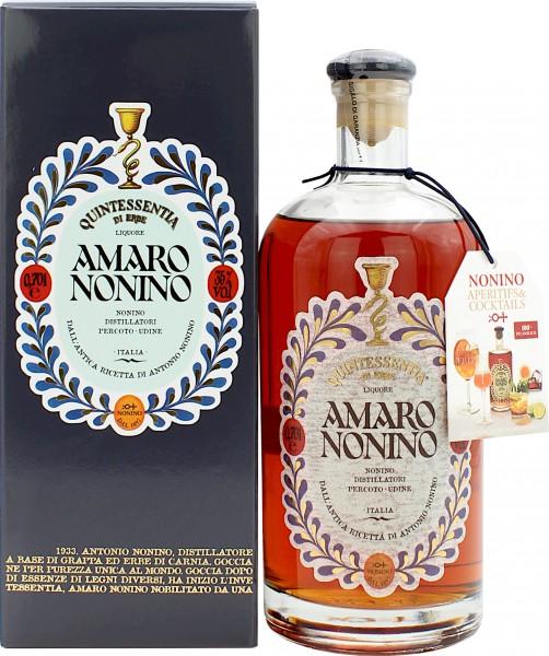 Nonino Amaro Quintessentia Di Erbe Alpine Likör