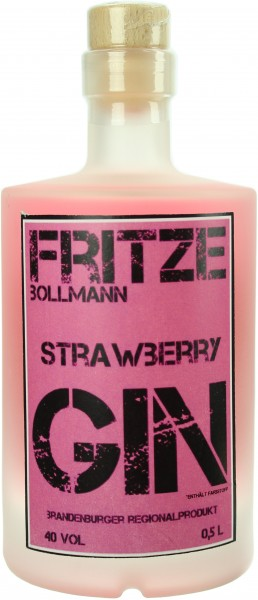 Fritze B. Strawberry Gin 40.0% 0,5l